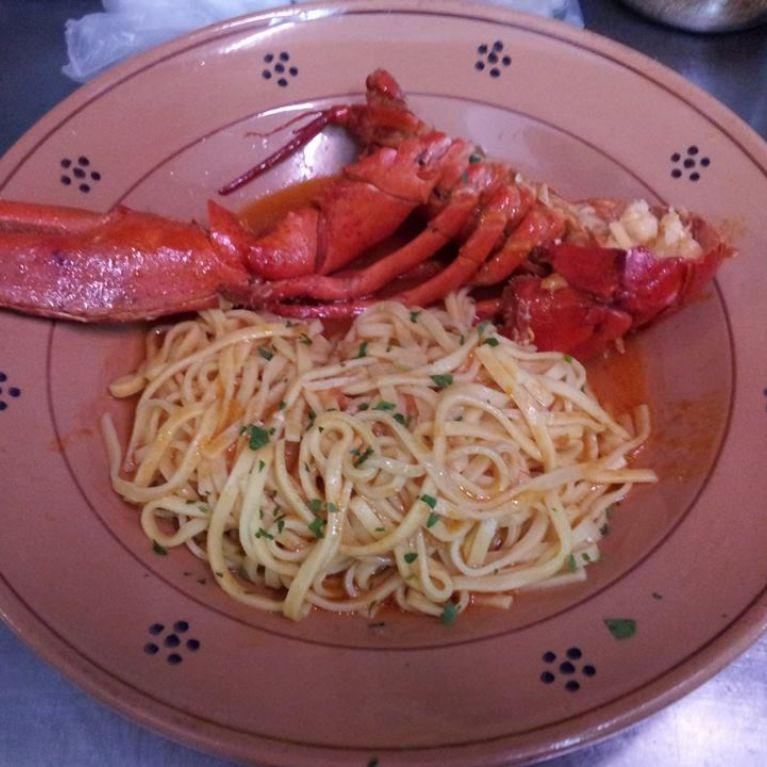 Spaghetto con aragosta